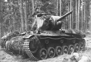 Stridsvagn m/42 with camo