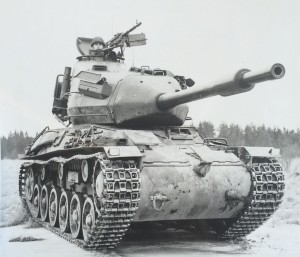 Stridsvagn 74 - new turret, same old chassis.