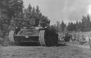 The first Swedish L-60, stridsvagn m/38.